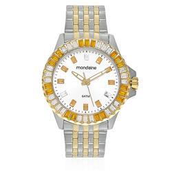 Relógio Feminino Mondaine Moda Analógico 94702LPMVBA1 Aço Misto