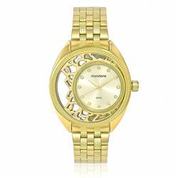 Relógio Feminino Mondaine Analógico 94697LPMVDE1 Dourado