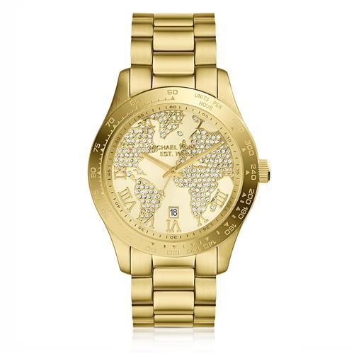 209cdb23b0c01 Relógio Feminino Michael Kors Analógico MK5959 4XN Dourado com Cristais