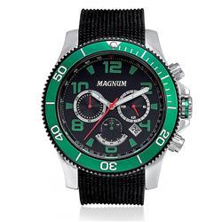 Relógio Masculino Magnum Analógico MA33308G Catraca Verde