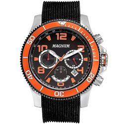 6ec60e52dd3 Relógio Masculino Magnum ScubaDiver MA30936P Aço Rose 3484