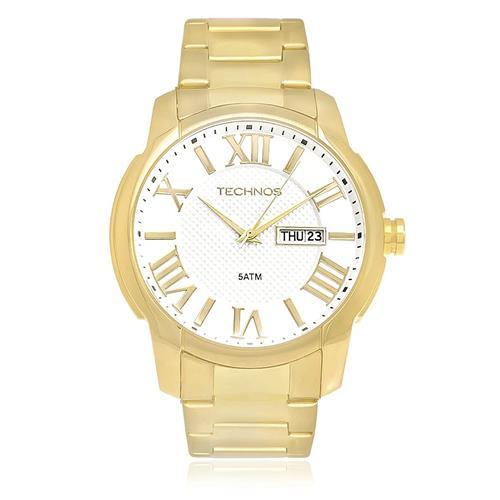 Relógio Masculino Technos Classic Grandtech Analógico 2305AL 4K dourado com  calendário duplo 3e1ed8e7ba