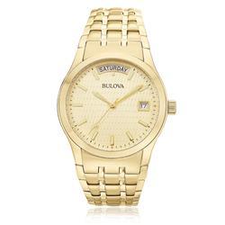 Relógio Masculino Bulova Analógico WB21007G Dourado