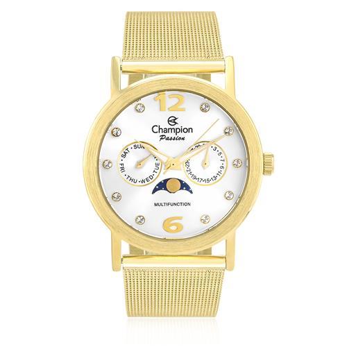 9c8816ff969 Relógio Feminino Champion Passion Analógico CH38208H Dourado