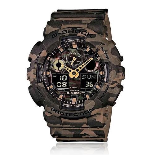 1e1db74ecde Relógio Masculino Casio G-Shock Ana-Digi GA-100CM-5ADR Camuflado