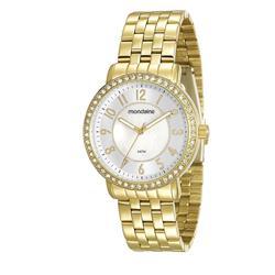 Relógio Feminino Mondaine Analógico 94808LPMVDE1 Dourado