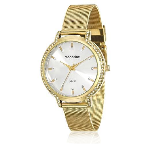 e5c52e71885 Relógio Feminino Mondaine Analógico 76508LPMGDE2 Dourado
