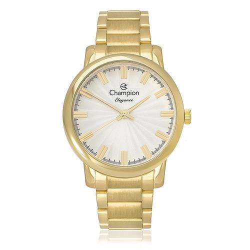 aa224bd80bc Relógio Feminino Champion Elegance Analógico CN26037H Dourado