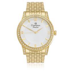 6efb125b735 Relógio Feminino Champion Passion Analógico CN29374W Aço Dourado