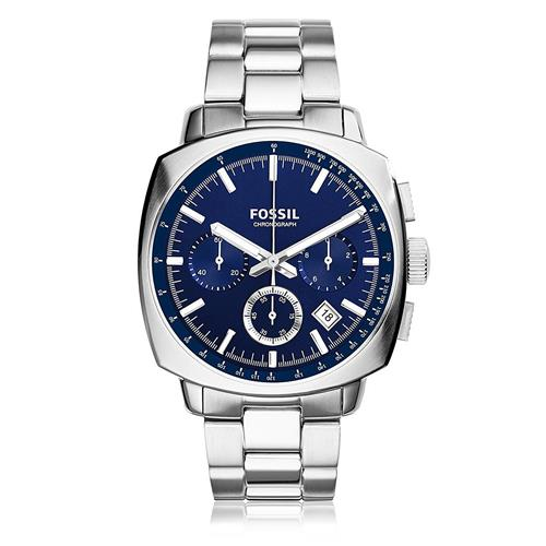 Relógio Masculino Fossil Chronograph CH2983/1AN Fundo Azul