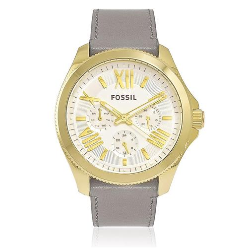 Relógio Feminino Fossil Cecile Multifunction Analógico AM4529/2XN Cinza