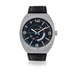 Relógio Masculino Mondaine Analógico 76399G0MVNH2 Couro Preto