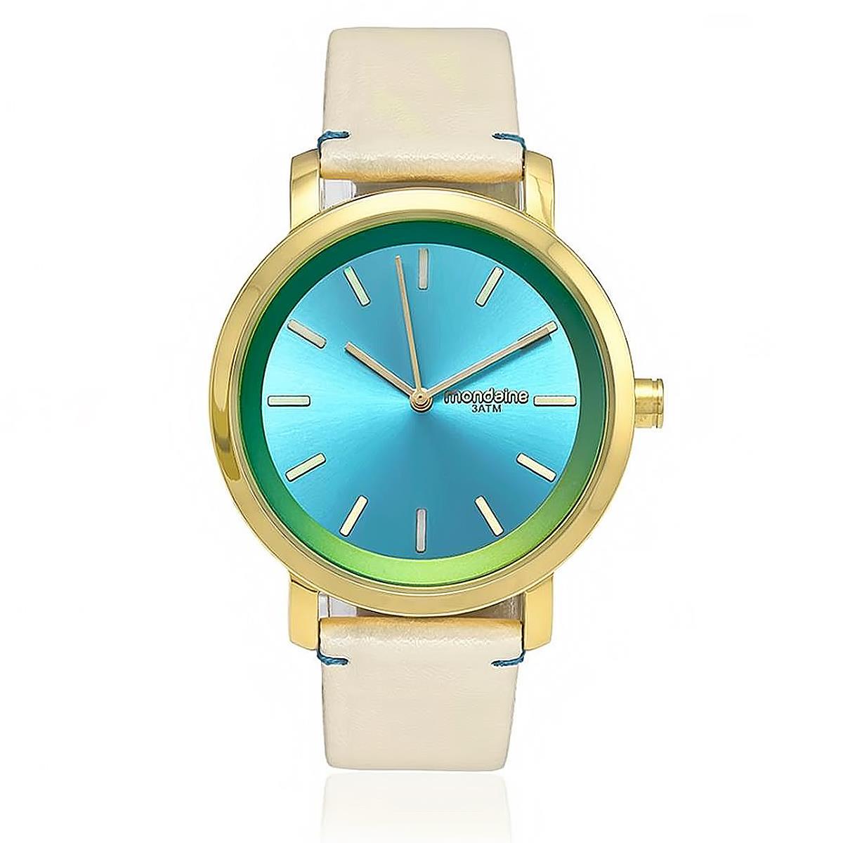 610f526d3a3 Relógio Feminino Mondaine Fashion Analógico 94767LPMVDH3 Branco