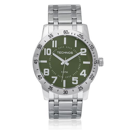 83c1ee36707c3 Relógio Masculino Technos Performance Military Analógico 2035LYE 1U Aço