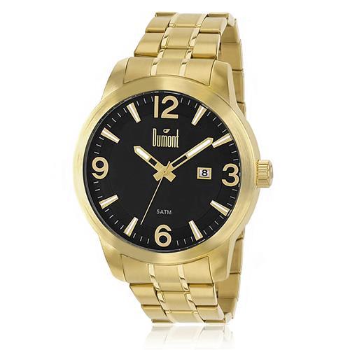 Relógio Masculino Dumont Analógico DU2315AO 4C Dourado b07904173a