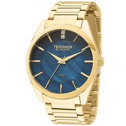 e23914ef860 Relógio Feminino Technos Elegance St. Moritz Analógico 2036LOU 4A Dourado