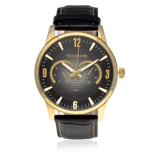 Relógio Masculino Technos Classic GrandTech Analógico 6P25AO 2P Preto 9e0e45efaa