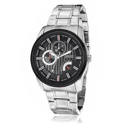 Relógio Masculino Magnum Multifunction Analógico MA32587T Fundo Preto