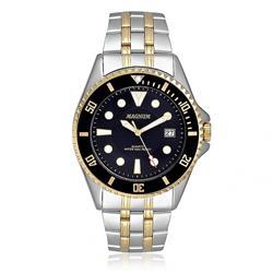 e0912869549 Relógio Masculino Magnum Analógico MA32872P Fundo Preto