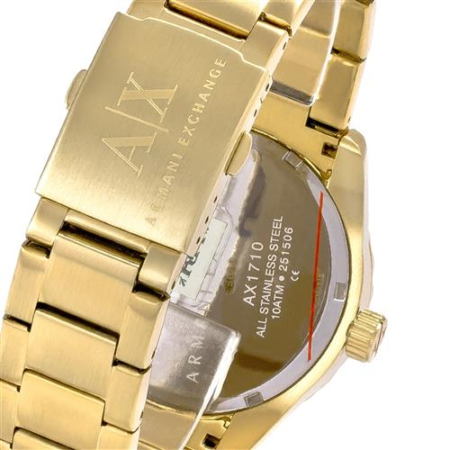 Relógio Masculino Armani Exchange Analógico AX1710 4PN Dourado 33526ed930