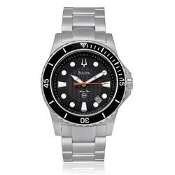214a247daf2 ... Aço com fundo preto. Relógio Masculino Bulova Marine Star Analógico  WB310.