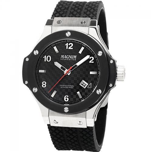 f21b8e9f0fe Relógio Masculino Magnum ScubaDiver MA30963T Aço