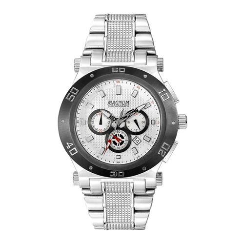 Relógio Masculino Magnum Chronograph MA32050Q Aço