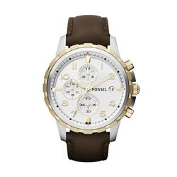 301064643d2 Relógio Masculino Fossil Analógico FFS4788 Z Couro