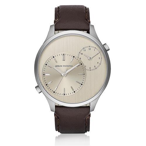 c5227dfd53d Relógio Masculino Armani Exchange Analógico AX2175 0KN Dual Time Couro  Marrom