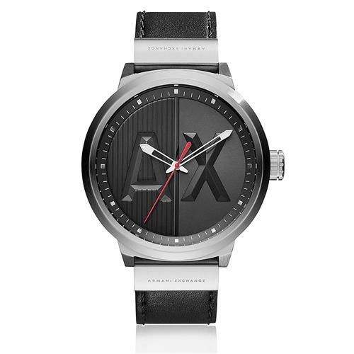 7a19aeb7e0b Relógio Masculino Armani Exchange Analógico AX1361 0PN Couro Preto