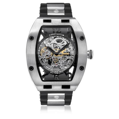 5b4ac4a8be7 Relógio Masculino Constantim Full Skeleton ZW30303P-S Special Edition  Automatic Silver