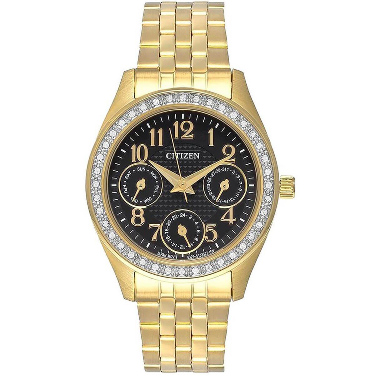 15e09efd5b3 Relógio Feminino Citizen Analógico TZ28388U Dourado