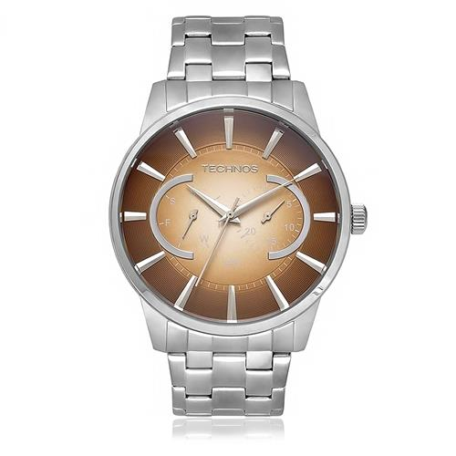 Relógio Masculino Technos Grandtech Analógico 6P25AP 1M Aço 62b50efbdc
