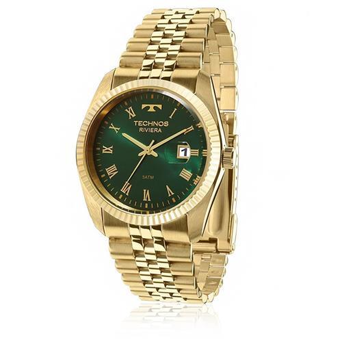 3f0faf0d44165 Relógio Technos Riviera 2115KQQ 4V Dourado