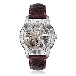 a42e67f8238 Relógio Bulova Masculino Analógico WB38151B Automático Marrom