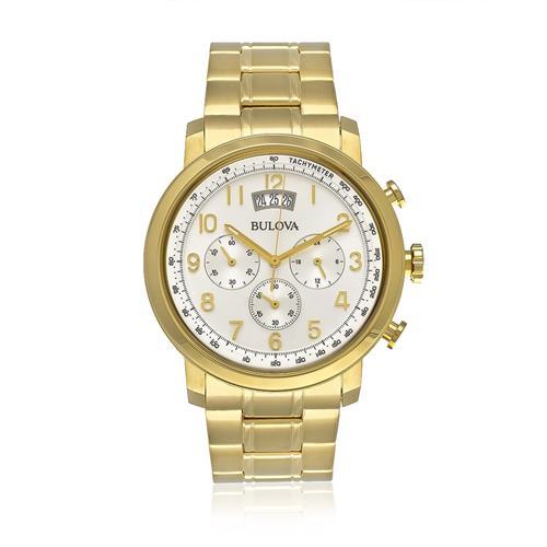 Relógio Masculino Bulova Analógico WB22220H Dourado
