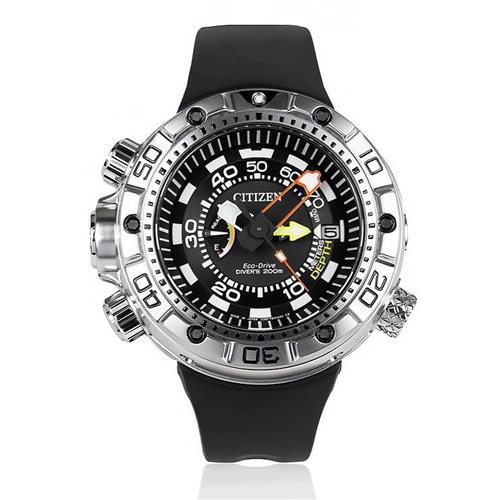 afc977cb985 Relógio Masculino Citizen Aqualand Promaster Eco-Drive Analógico TZ30633N  Preto
