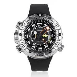5442cd78162 Relógio Masculino Citizen Aqualand Promaster Eco-Drive Analógico TZ30633N  Preto