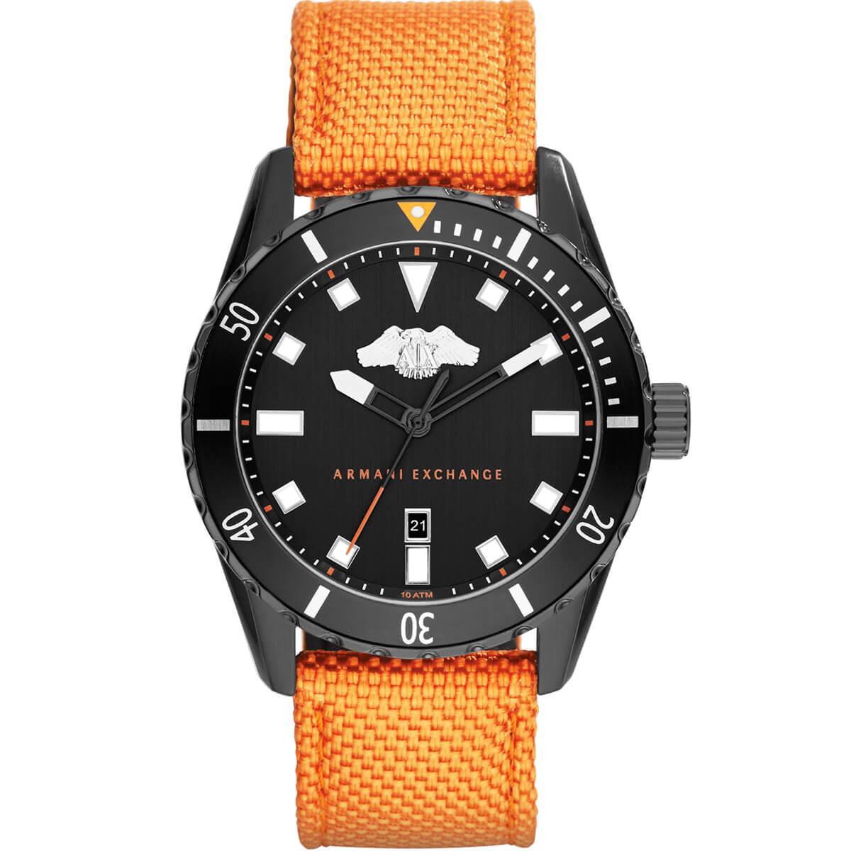 939ae7f638b Relógio Masculino Armani Exchange Ref AX1705 8LN Nylon