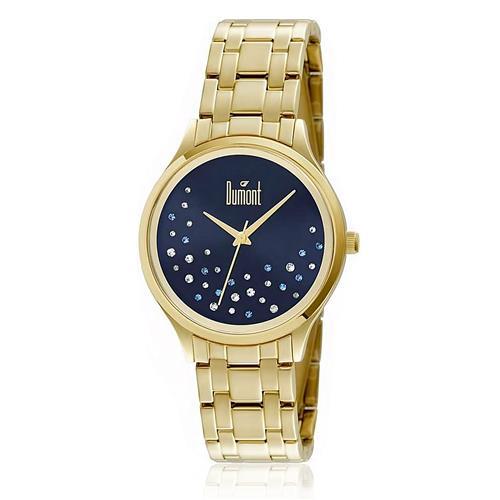 Relógio Feminino Dumont Analógico DU2036LST/4A Dourado
