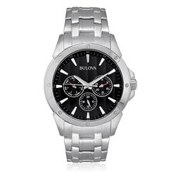 dcf722b727c Relógio Masculino Bulova Analógico WB21632T Aço com .