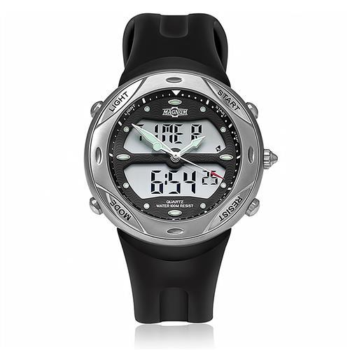 f31d6ef1fcd Relógio Masculino Magnum Ana-Digi MA10190J Borracha