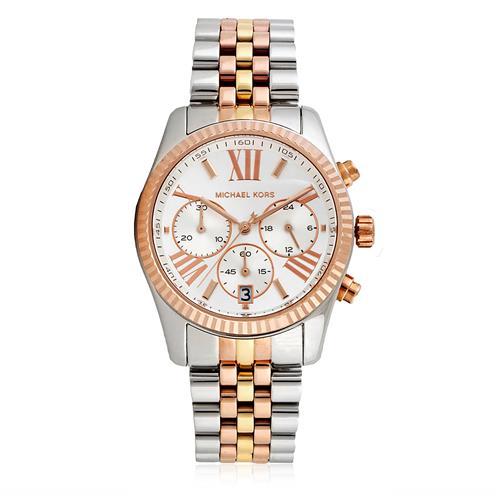 3901d9f17 Relógio Feminino Michael Kors Analógico OMK5735/Z Aço Misto