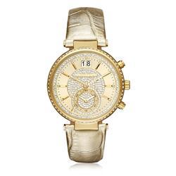 1c1c30bfa83 Relógio Feminino Michael Kors Analógico MK2444 2DN Dourado com Cristais
