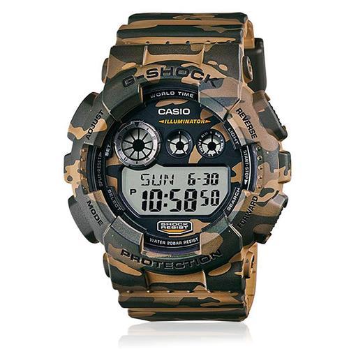 0219f08dc96 Relógio Masculino Casio G-Shock Digital GD-120CM-5DR Camuflado