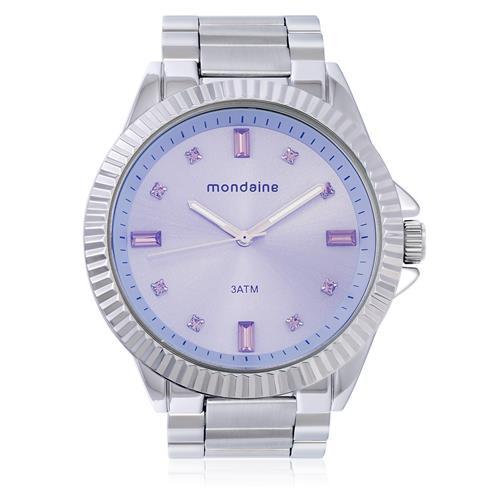 Relógio Feminino Mondaine Analógico 76496L0MVNE3 Aço