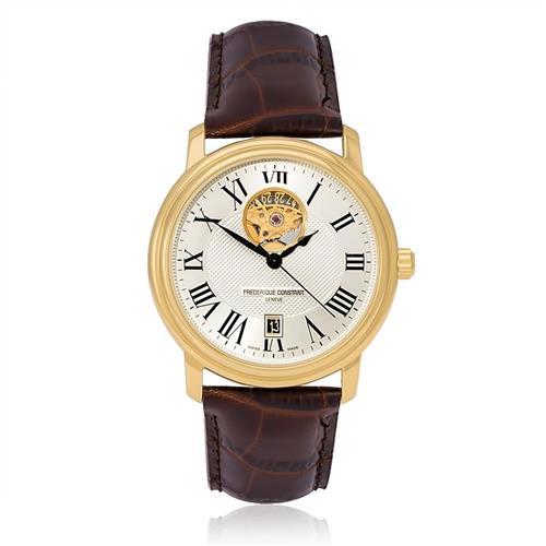 2b07af610c0 Relógio Masculino Frederique Constant Analógico WF20242S Automático Marrom