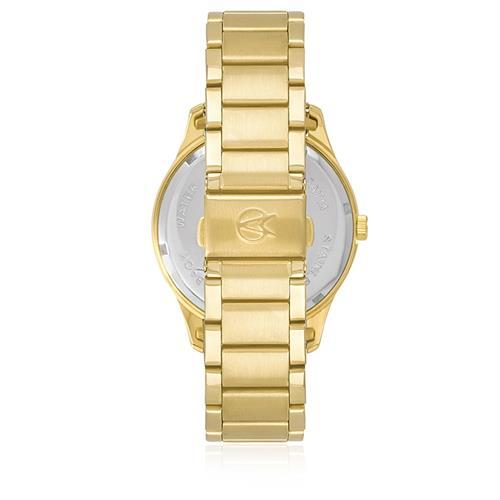 4bbfeeadea0 Relógio Feminino Champion Elegance CN26037A Dourado. 31% OFF