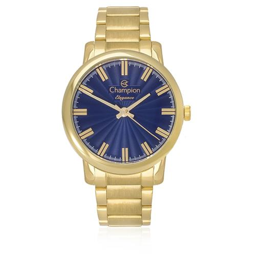 8f23d70b866 Relógio Feminino Champion Elegance CN26037A Dourado
