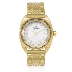 Relógio Feminino Champion Crystal CN27858W Kit com Colar e Par de Brincos